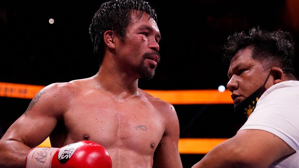 Manny Pacquiao har gått sin sista match. Arkivbild.