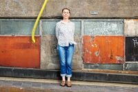 """""""Jag kände ett helt overkligt fysiskt motstånd inför att skriva om kulturvärlden – det är faktiskt intressant hur svårt det var att bryta ett tabu på det sättet"""", säger Maja Lundgren."""
