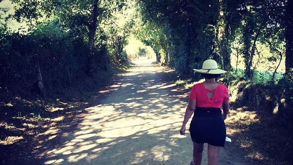 På vandring längs El camino, pilgrimsleden till Santiago de Compostela, får hjärnan fritt spelrum.