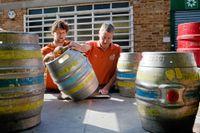 På Windsor and Eton Brewery har de tagit fram en Pale Ale till bröllopet.