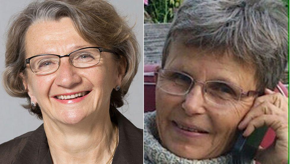 Orsolya Hoffmann och Kerstin Käll