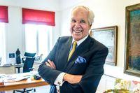 """""""De riktiga entreprenörerna är de som varit med i både upp- och nedgångar och sedan kommit tillbaka"""", säger den 84-årige finansmannen Anders Wall."""