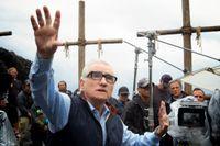 "Martin Scorsese under inspelningen av ""Silence""."