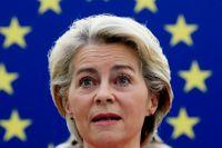 USA och Australiens behandling av Frankrike är inte acceptabel, säger EU-basen Ursula von der Leyen. Arkivbild.