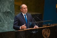 Rumen Radev. Arkivbild från FN i New York.