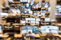 Skakigt på börsskärmarna i september. Arkivbild.