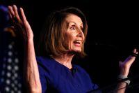 Nancy Pelosi, Demokraternas minoritetsledare  i representanthuset.
