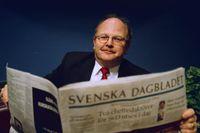 Januari 2000. Mats Johansson, kolumnist och tidigare chef på Timbro, utses av styrelsen till en av Svenska Dagbladets två nya chefredaktörer.