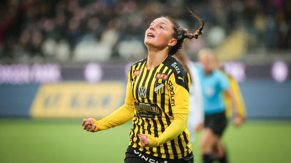 Johanna Rytting Kaneryd gör comeback i landslaget till VM-kvalet mot Irland. Arkivbild.