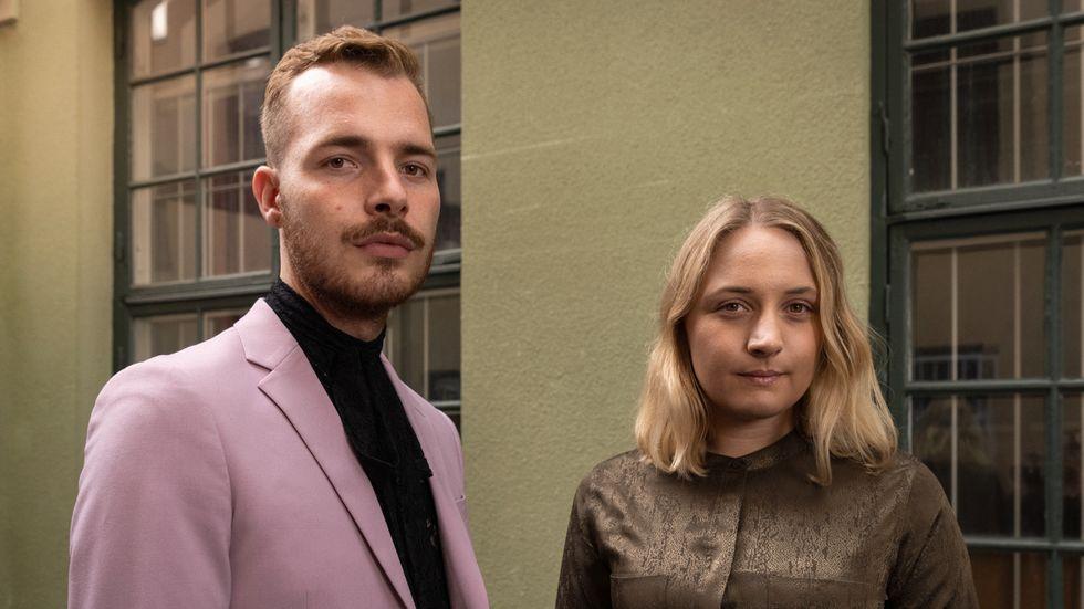 Oskar M Wiik och Linn Svärd, Sveriges förenade studentkårer.