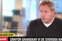 SvD:s chefredaktör Fredric Karén.