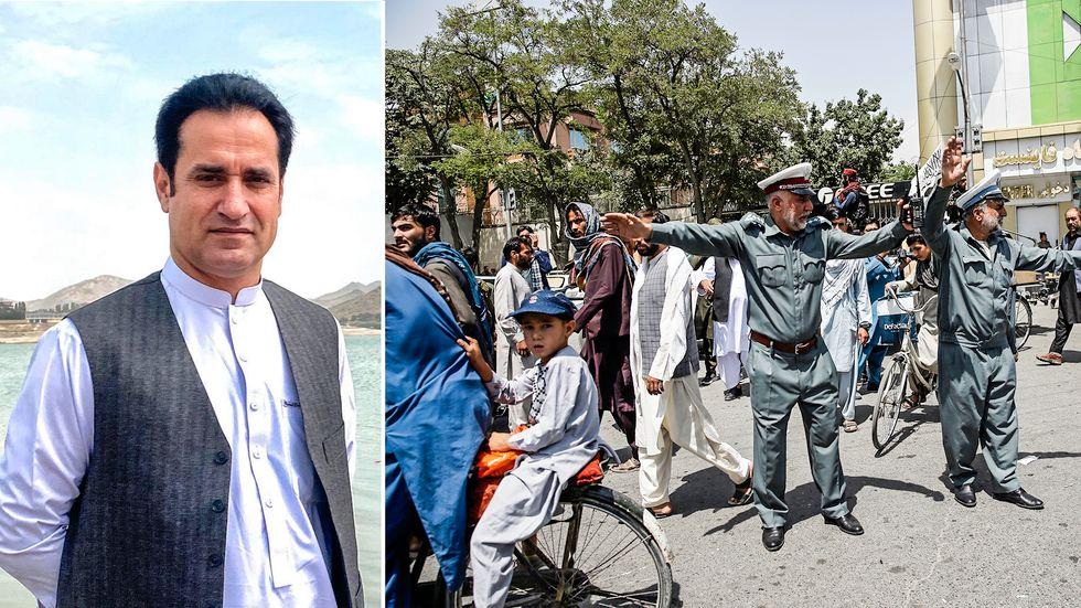 Khalid Fahim vittnar om livet i Kabul sedan övertagandet.