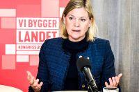 Magdalena Andersson lägger fram ny jobbpolitik, som Socialdemokraternas kongress ska ta ställning till. Arkivbild.