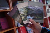 Tre böcker av Louise Glück.