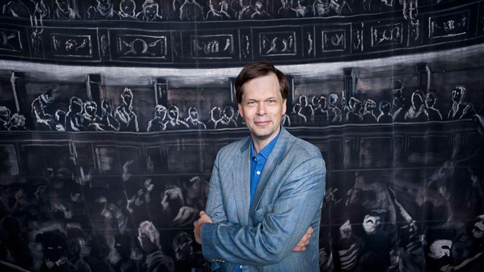 Vinnaren av Svenska Dagbladets operapris 2014, Patrik Ringborg.