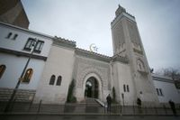 Stora moskén i Paris. Frankrike är det land där överskattningen av muslimer är som störst.