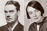 Artur Lundkvist (1906–1991) och Karin Boye (1900–1941)