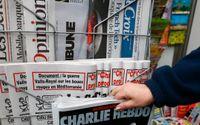 Charlie Hebdo publicerar karikatyrer av den islamske profeten Muhammed igen, samtidigt som rättegången mot tolv personer som misstänks ha varit inblandade i terrorattacken mot satirtidningen startar. Arkivbild.