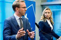 Kristdemokraternas rättspolitiska talesperson Andreas Carlson. Arkivbild.