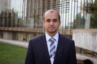 Den saudiske människorättsaktivisten Ali Abubisi.