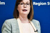 Sjukvårdsregionrådet Anna Starbrink (L) tycker att samordningen fungerar bra inom sjukvården.