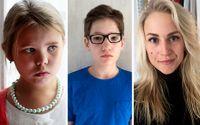 Ebba Puls, Johan Wallén och Kajsa Asp, alla drabbade av narkolepsi.