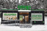 Coop testar ett nytt butikskoncept med obemannade butiker.