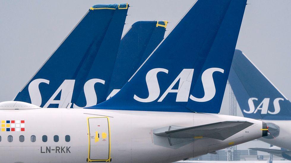 SAS och pilotföreningarna har kommit överens om ett ettårigt kollektivavtal. Arkivbild.