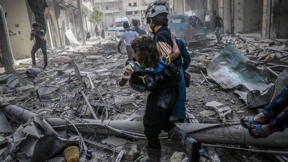 Krig i Aleppo, Syrien. Ta inte bort möjligheten till oberoende rapportering från krig, vädjar skribenten.