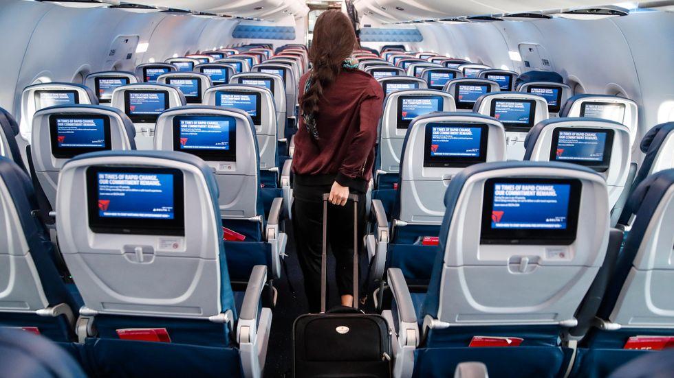 Flygbolaget Delta Airlines ser en ny utmaning i form av ökade bensinpriser. Arkivbild.