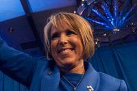Michelle Lujan-Grisham vann guvernörsvalet i New Mexico.