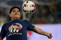 Diego Maradona. Arkivbild.