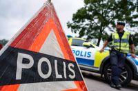 En sökinsats pågick vid en badplats i Tingsryds kommun efter ett drunkningslarm. Arkivbild.