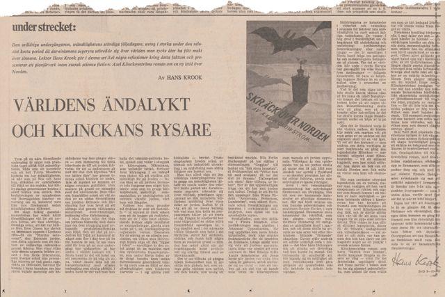 Denna artikel var införd i SvD den 9 oktober 1972.
