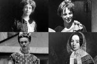 Emmeline Pankhurst, Amelia Earhart, Frida Kahlo och Fredrika Bremer är kvinnor som skrivit in sig i historien.