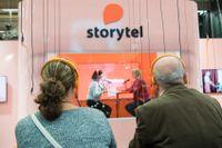Storytel är en strömningstjänst för ljudböcker. Arkivbild.