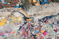 Regeringen föreslår 50 miljoner kronor för att bekämpa brottslighet kopplat till avfallshantering i nästa års budget. Arkivbild.