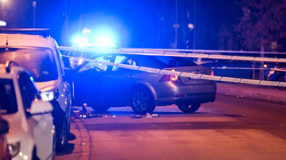 Skjutvåldet har ökat dramatiskt. Men sett till antalet totalt som utsätts för någon form av våld som kräver sjukhusvård så har våldet i samhället minskat. Arkivbild.