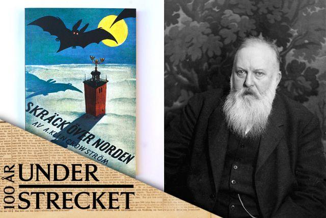 """Axel Klinckowström (1867–1936) gav ut """"Skräck över Norden"""" 1935."""