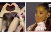 """""""One love Manchester""""-konserten den 4 juni, 13 dagar efter terrorattentatet under Ariana Grandes konsert."""