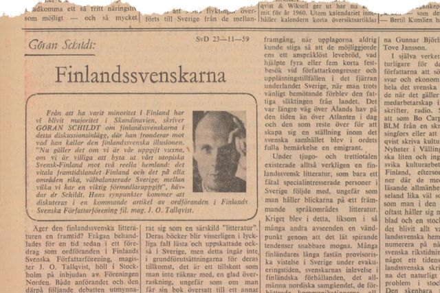 Denna artikel publicerades i SvD den 23 november 1959.