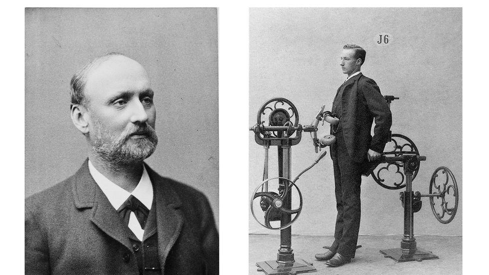 Gustaf Zanders mediko-mekaniska gymnastik: gymmaskiner redan för 150 år sedan.