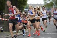 Årets Stockholm Marathon ställdes in. Arkivbild.
