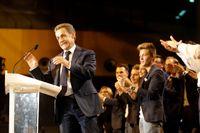Frankrikes förra president.