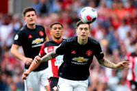 Victor Nilsson Lindelöf och Manchester United tappade poäng mot Southampton.