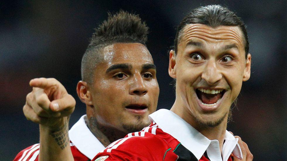 Zlatan Ibrahimovic spelar snart i rödsvart igen. Arkivbild.