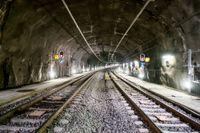 Tågtunneln mellan Helsingfors och Tallinn tar form. På bilden Citybanan i Stockholm. Arkivbild.