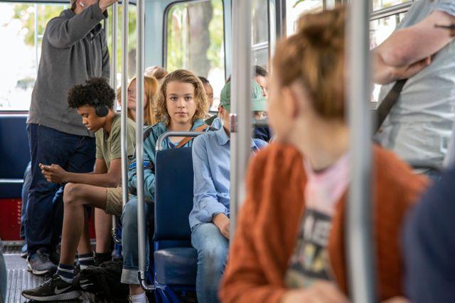 """""""Det är scener från verkliga livet i den här filmen, så som det kan kännas på riktigt, så jag tror att många känner igen sig i filmen"""", säger Sonja."""
