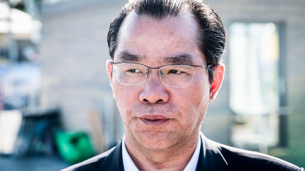 Replik från Gui Congyou, Kinas ambassadör i Sverige.