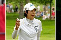 Tre favoriter i US Open: Christie Kerr, Song-Hee Kim och Jyai Shin.